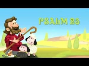 Psalm 23 for children