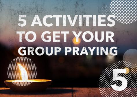 5 prayer activities