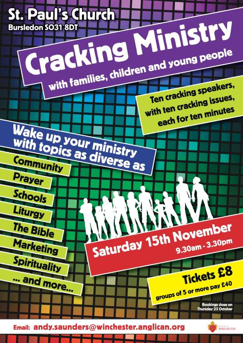Cracking Ministry A3 Poster-page-001